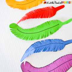 Feather-Craft-and-Scissor-Practice-for-Kids-8